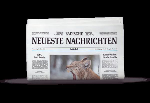 BNN Print. Die gedruckte Ausgabe von montags bis samstags an Ihre Wunschadresse.