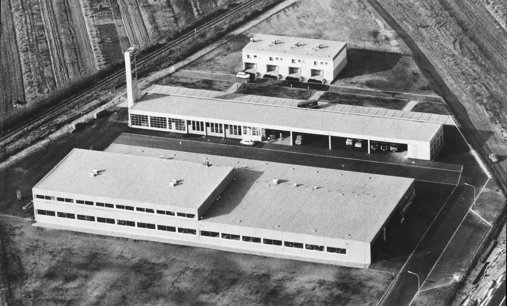 Die Druckerei der BNN 1972