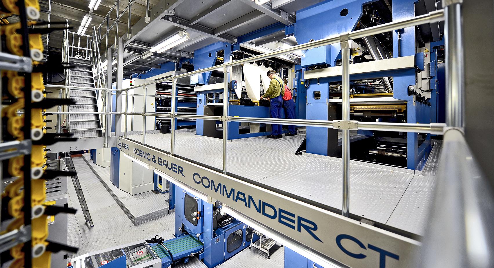 BNN neue Druckmaschine 2012