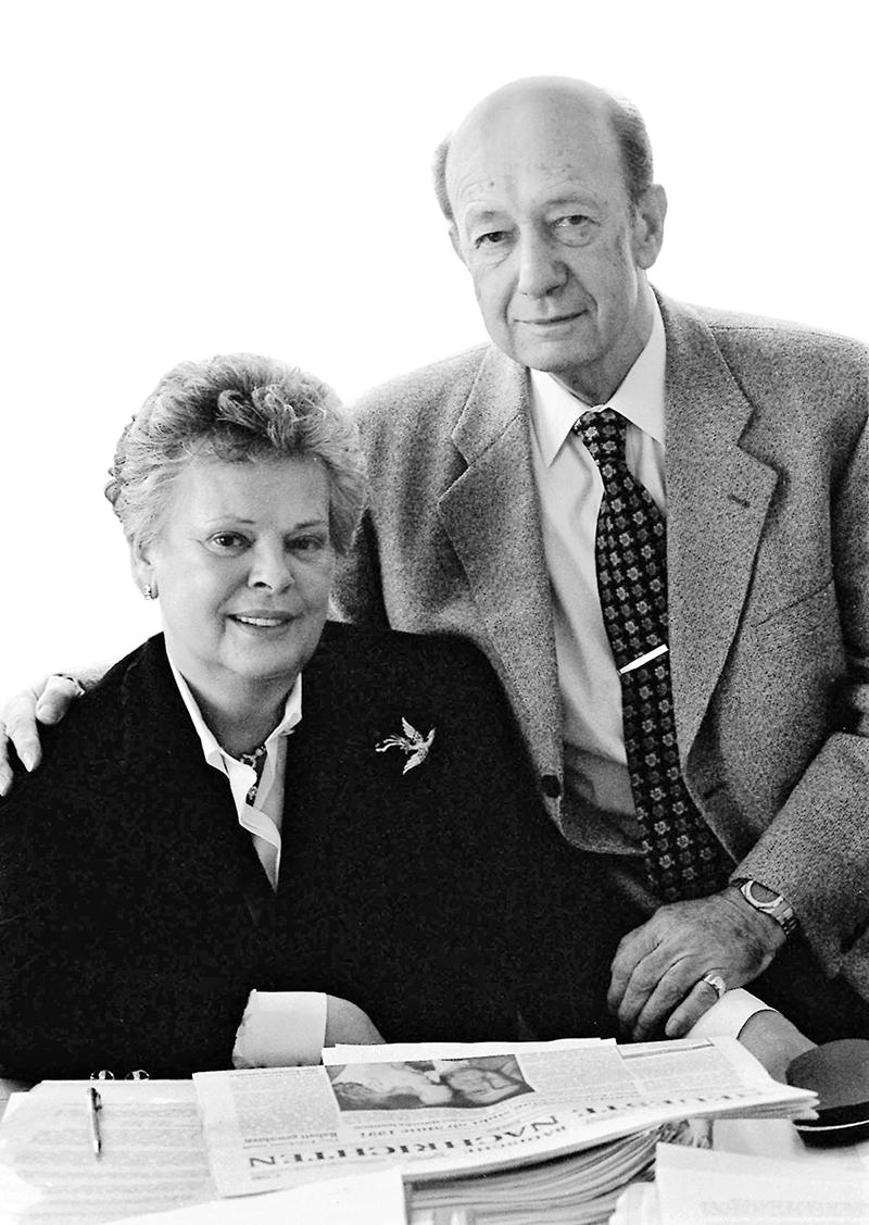 BNN-Verleger Ehepaar Baur