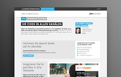 JOBSaround-Loginbereich-und-Content-Editor